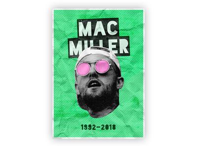 MAC MILLER POSTER 11x15