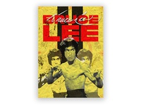 BRUCE LEE POSTER 11x15.5