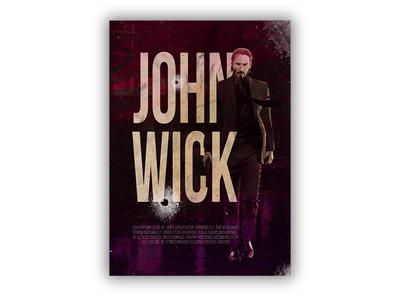 John Wick Poster 11x15.5