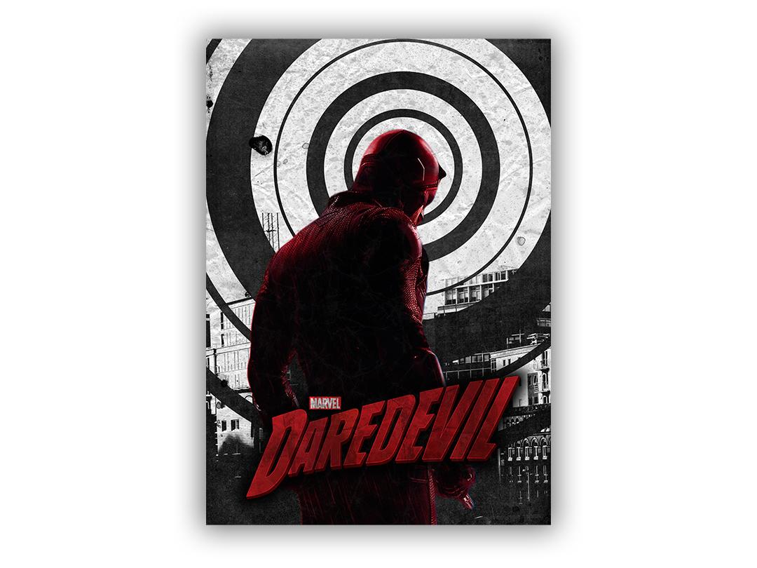 Poster daredevil dribbble