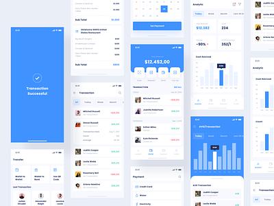 Finance App banking bank fintech credit card clean chart analytic digital wallet wallet finance mobile aplication dashboard minimal web interface app design ux ui