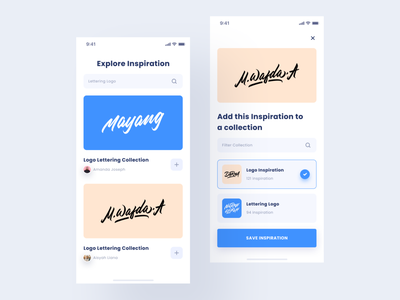Ui Exploration - Pin App save lettering inspiration pin product design logo branding flat exploration web interface app design ux ui