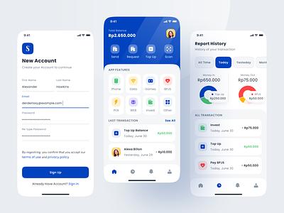 Finance App wallet app save money wallet management app money mobile design finance banking interface mobile app ux ui design