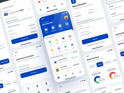 Finance App V2 money app finance app banking finance mobile design save money wallet interface app design ux ui wallet app