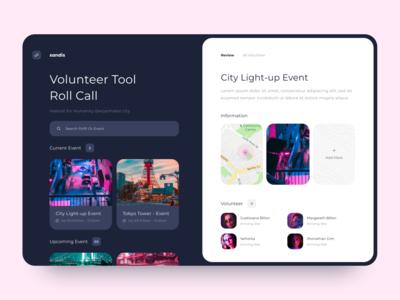UI Exploration Volunteer Tool
