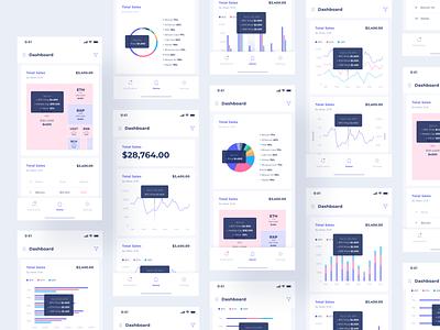 Analytic App corporate statistics analyze management analytics mobile brand data visualization visualization data business crypto analytic dashboard interface app design ux ui