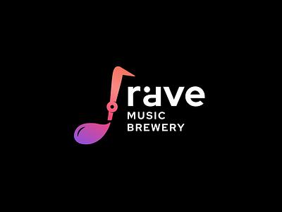music brewery brewery music note bar luxury design logo icon music
