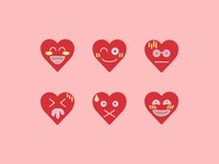 Free Download Heart Face Emoji