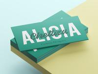 Business Card - Kalulla Font 50% OFF