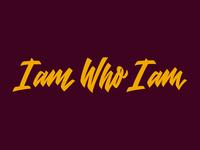 I am Who I am Logotype