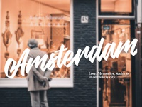 Amsterdam Hand Written
