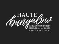 HAUTE Bungalow Logo redesign