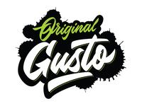 Original Gusto Logo design