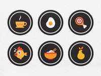 Blindfood App Badges