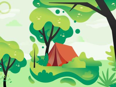 Nature Greenery Illustration