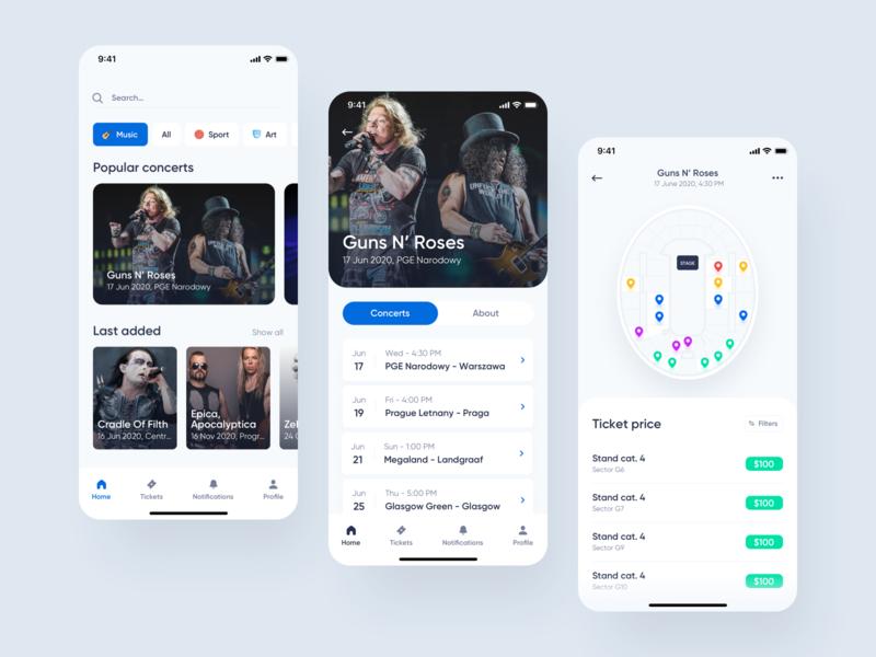 Ticketmaster - redesign concept