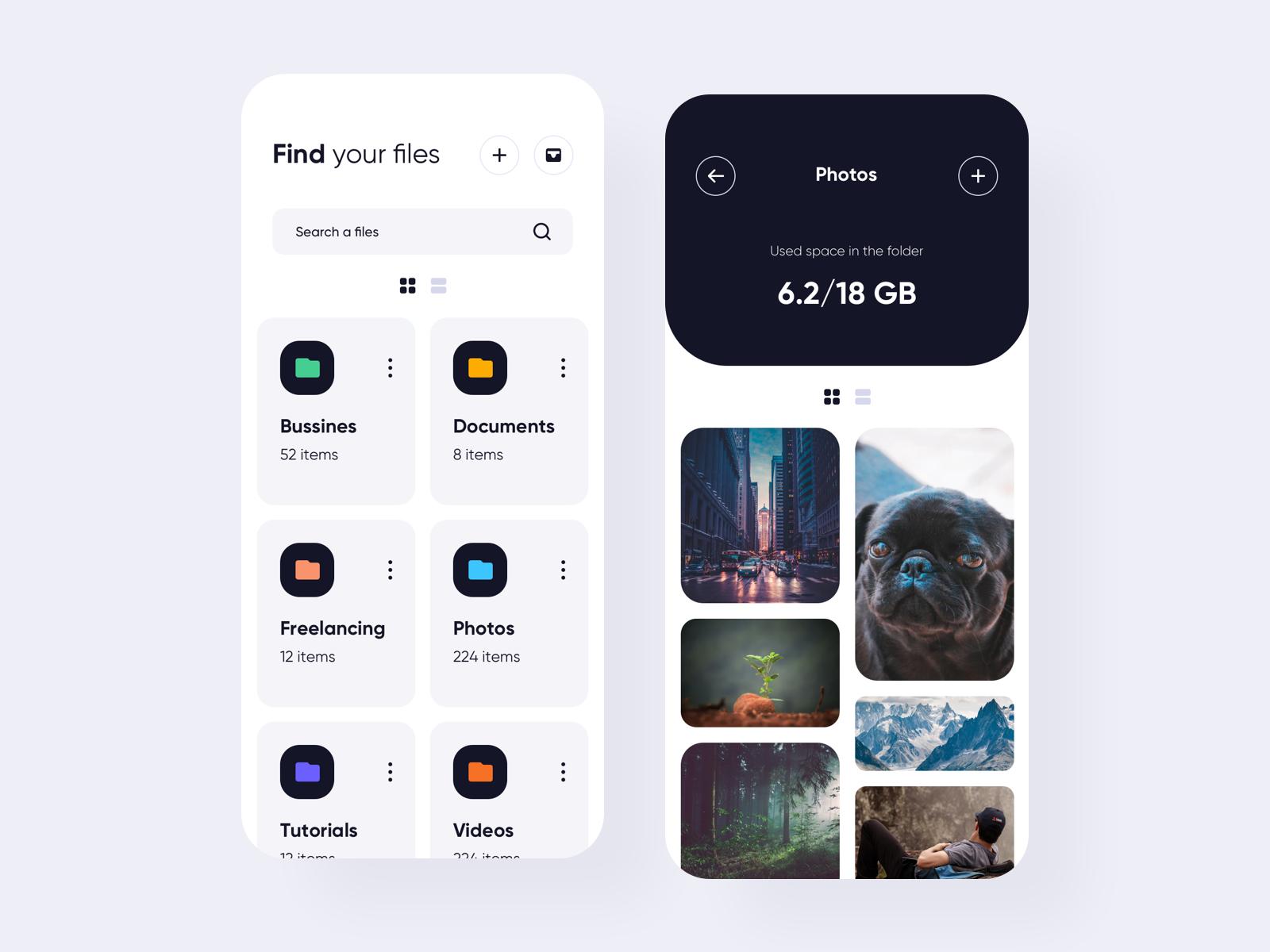 Files Managment App