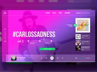 Carlos Sadness Web