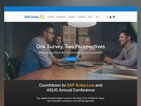 Sap Ariba Website Design