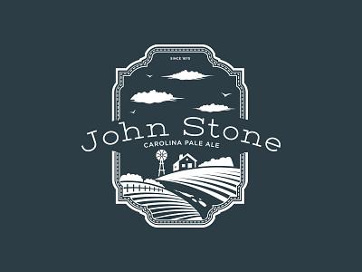 John Stone Logo graphic design branding
