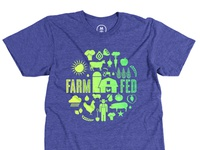 Farm Fed T-shirt Design