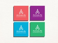 Identity design for Active Life Acupuncture