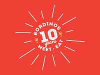 Bordinos 10 year Celebration