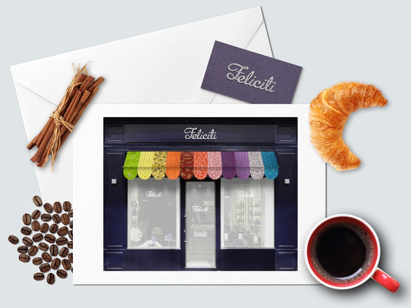 2010 Feliciti Cafe Logo & Style typography branding illustration logo design