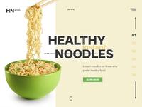 Noodles promo page