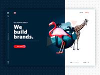 Creative Agency Website Concept
