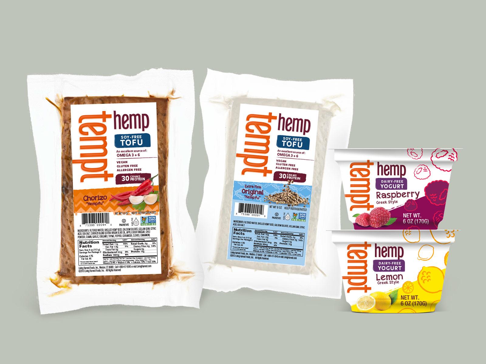 Hemp-based Tofu and Yogurt by jothan