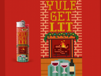 Ugly Holiday Sweater lighter wrap