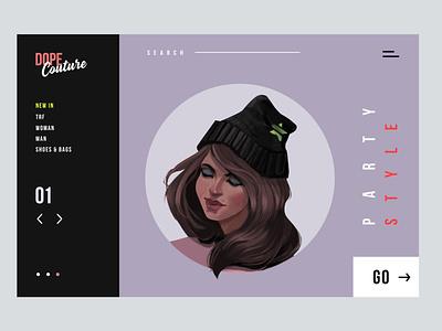 Dope Couture - Concept Illustration Design I digital painting portrait character concept illustration