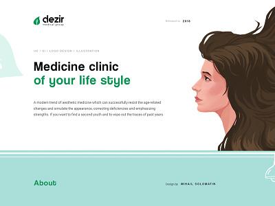 Dezir project art design flat character illustration personage concept ui