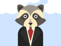 Business Raccoon