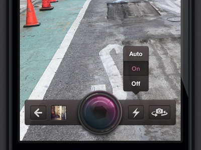 Camera interface in the works