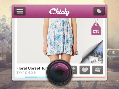 Chicly iPhone App