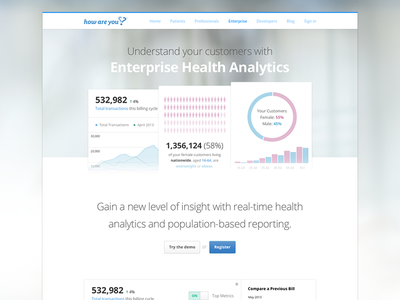 Product Site 02 design healthcare medical features product