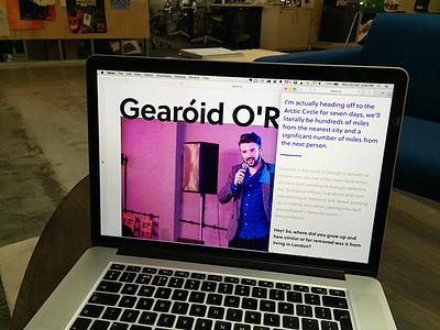 Peers Website design interviews website