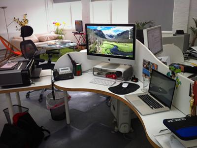 My Workspace workplace workspace desktography work