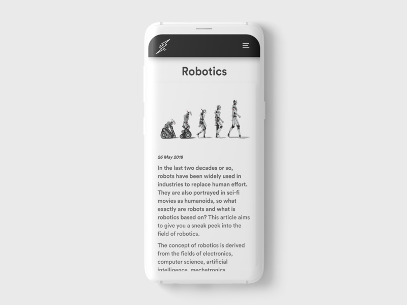 A minimalistic blog post flaticons website branding design uiux web ux ui uidesign webdesign uitrends mock up