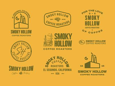 Smoky Hollow typography packagedesign artdirection logotypedesign logo vintage illustration design branding