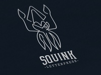Squink: Brand Design (Monochrome)