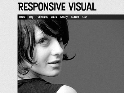 Responsive Visual Theme wordpress