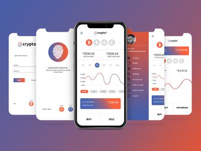 Crypton App Screens
