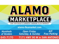 Alamo Marketplace Billboard Design
