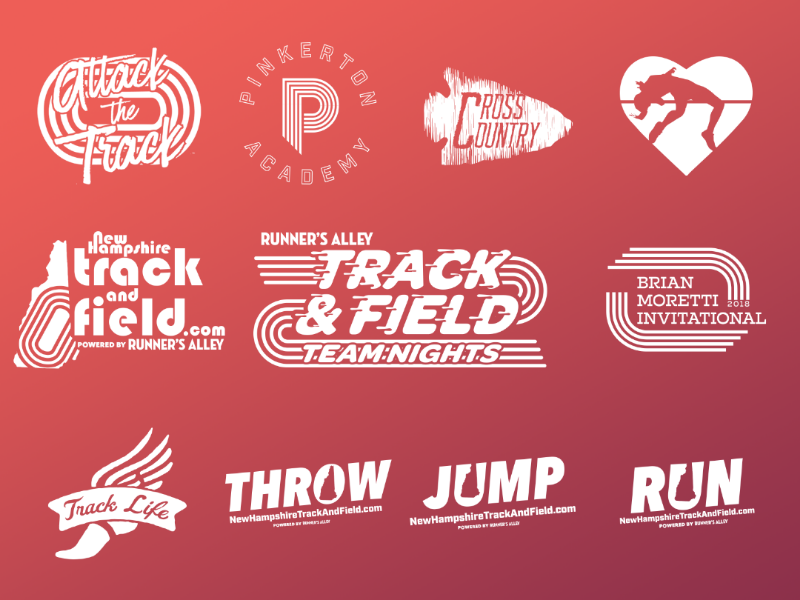 Scholastic Running Logos 2017 2018 By Jeremiah Gould On Dribbble
