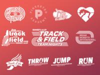Scholastic running logos 2017-2018