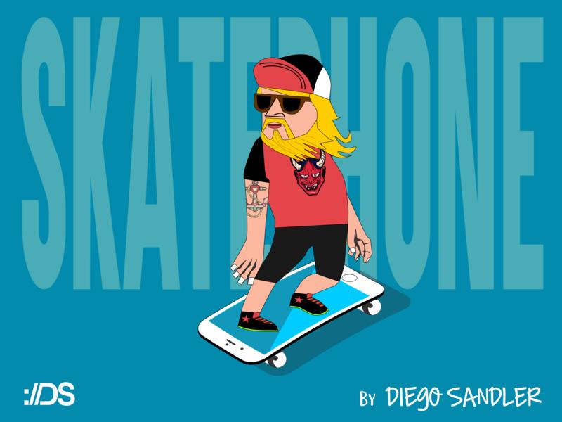 skatephone