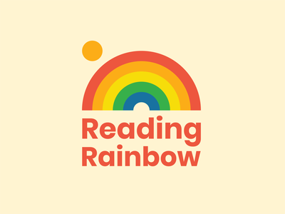 Reading Rainbow logo concept